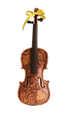 violin art by Madison Clark